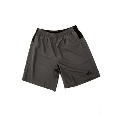 Bermuda-Academia-Masculina-Adidas-Colorblock-Cinza