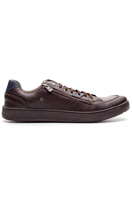 Sapatenis-Casual-Masculino-Ped-Shoes.-Marrom-