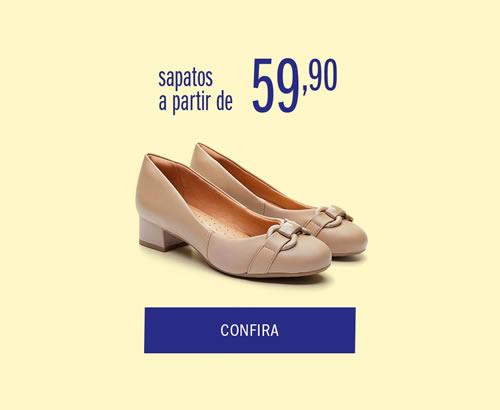 Sapatos a partir de 59,90