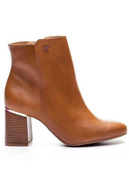 Bota-Ankle-Boot-Femino-Via-Marte-Caramelo