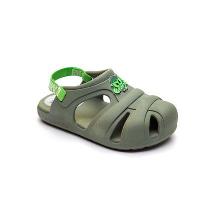 Sandalia-Babuche-Grendene-Verde-Escuro