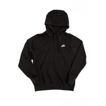 Blusao-Canguru-Masculino-Nike-Club-Fleece-Preto