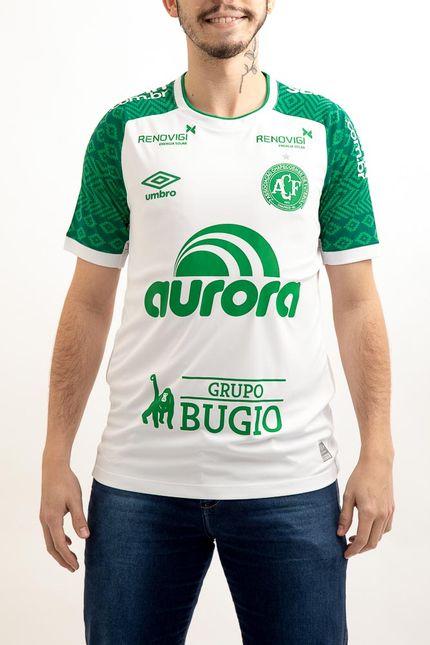 Camisa-Masculina-Umbro-Chapecoense-Of.-2-2021-Branco