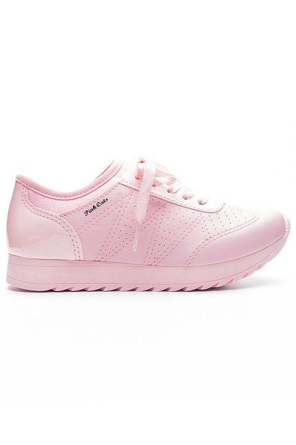 Tenis-Casual-Menina-Pink-Cats-V1251-Rosa-Claro