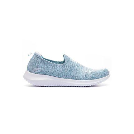 Tenis-Slip-On-Feminino-Skechers-13106-Blu-Azul