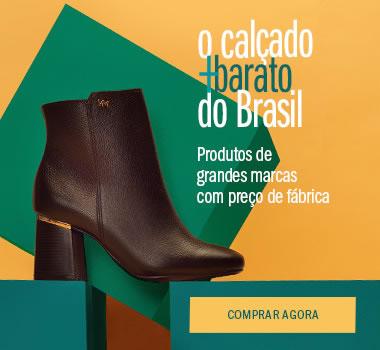Calçado mais barato do Brasil