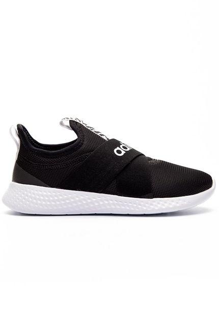 Tenis-Slip-On-Feminino-Adidas-Puremotion-Adapt-Preto