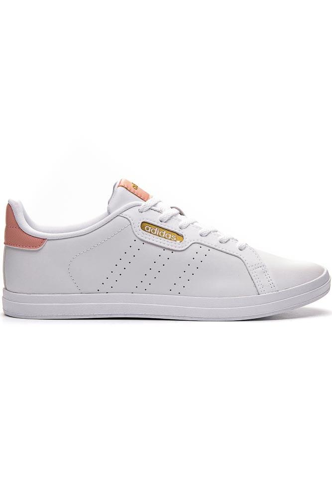 Tenis-Casual-Feminino-Adidas-Courtpoint-Base-Branco
