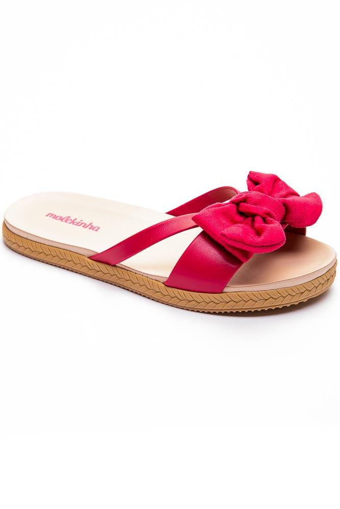 Chinelo-Rasteira-Juvenil-Menina-Molekinha-Pink-