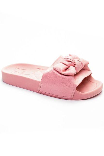Chinelo-Slide-Infantil-Menina-Molekinha-Laco-Rosa