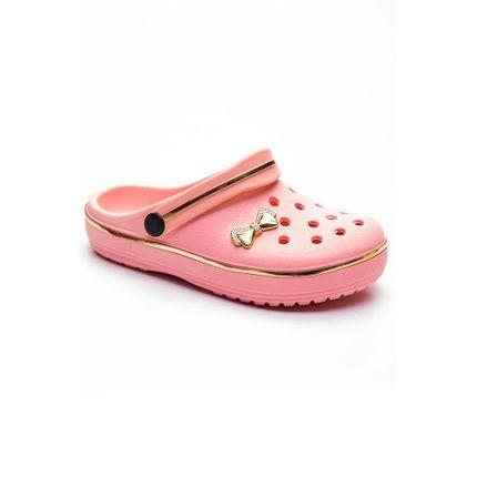 Tamanco-Babuche-Infantil-Menina-Crocsl-Rosa