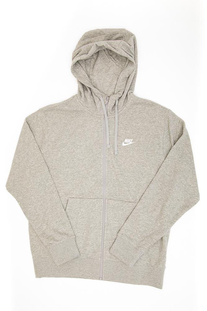 Jaqueta-Moletom-Masculina-Nike-Sportswear-Club-Cinza