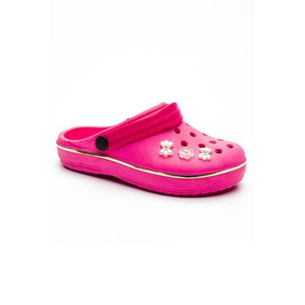 Tamanco-Babuche-Infantil-Menina-Crocsf-Pink