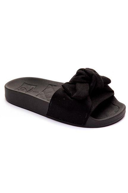 Chinelo-Slide-Infantil-Menina-Molekinha-Laco-Preto