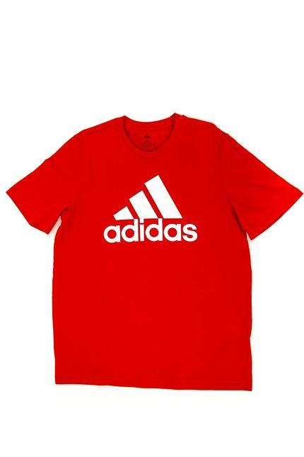 Camiseta-Casual-Masculina-Adidas-Big-Logo-Vermelho