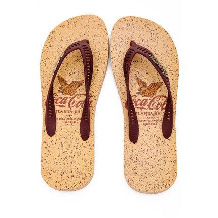 Chinelo-De-Dedo-Masculino-Coca-Cola-Bege