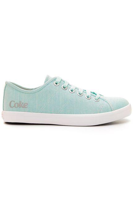 Tenis-Casual-Feminino-Coca-Cola-Miami-Cotton-Azul