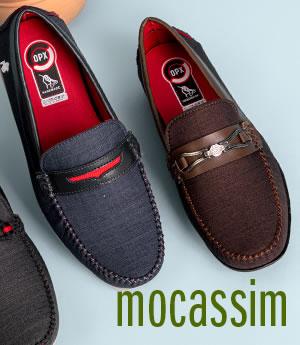 Meio - Masculino Mocassim