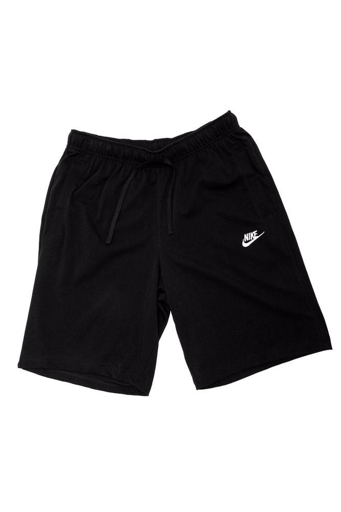 Bermuda-Masculina-Nike-Sportswear-Club-Preto