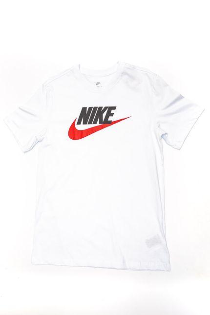 Camiseta-Masculina-Nike-Tee-Icon-Futura-Ar5004-100-Branco