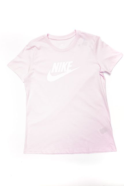 Camiseta-Feminina-Nike-Sportswear-Essential-Bv6169-695-Rosa