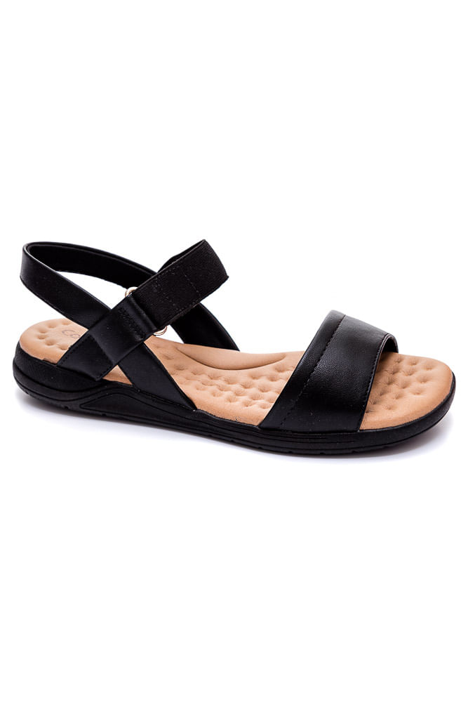 Sandalia-Papete-Comfortflex-Preto