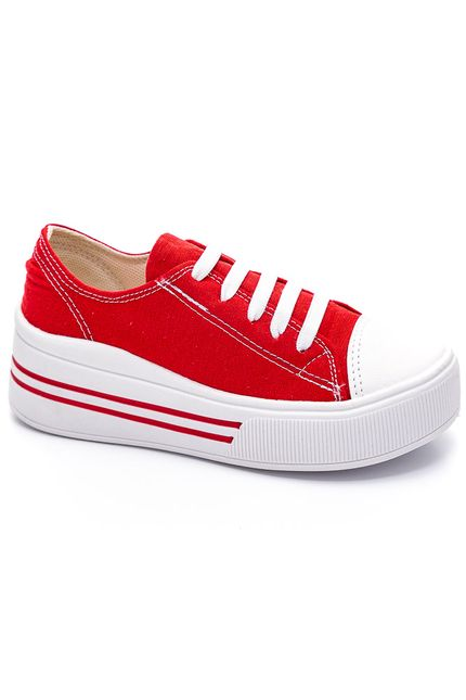 Tenis-Casual-Jet-Kids-Vermelho