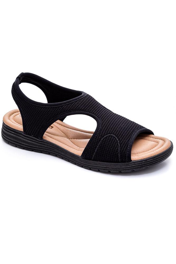 Sandalia-Conforto-Feminina-Comfortflex-Preto