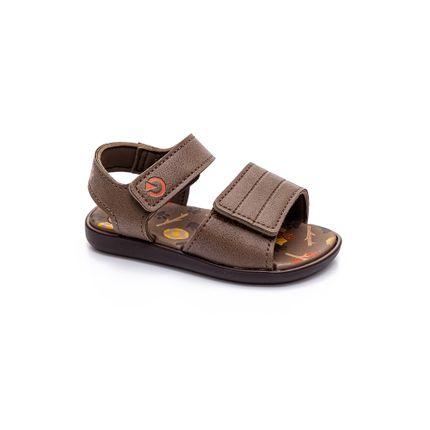 Sandalia-Casual-Infantil-Menino-Cartago-11866-Marrom-