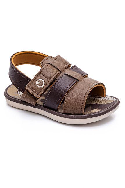 Sandalia-Rasteira-Infantil-Menino-Cartago-11630-22218-Marrom-