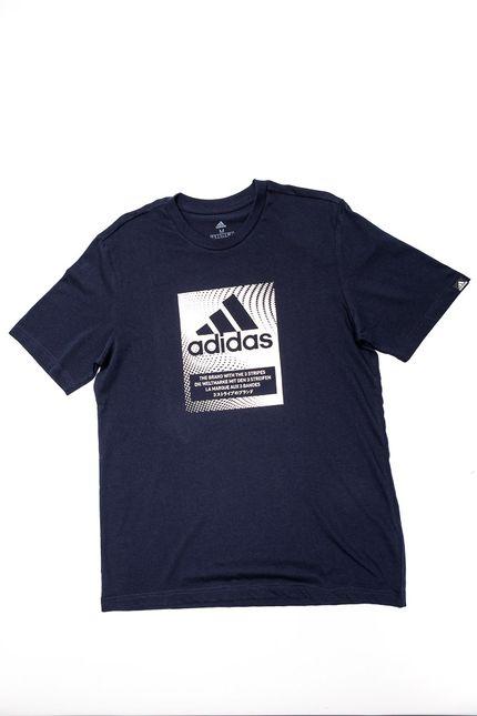 Camiseta-Masculina-Adidas-Foil-Logo-Box-Gs6319-Marinho