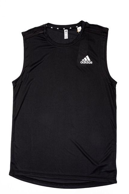 Camiseta-Regata-Adidas-Aeroready-3-Stripes-Preto