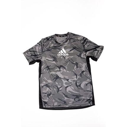 Camiseta-Masculina-Adidas-Aeroready-H28795-Cinza-Escuro