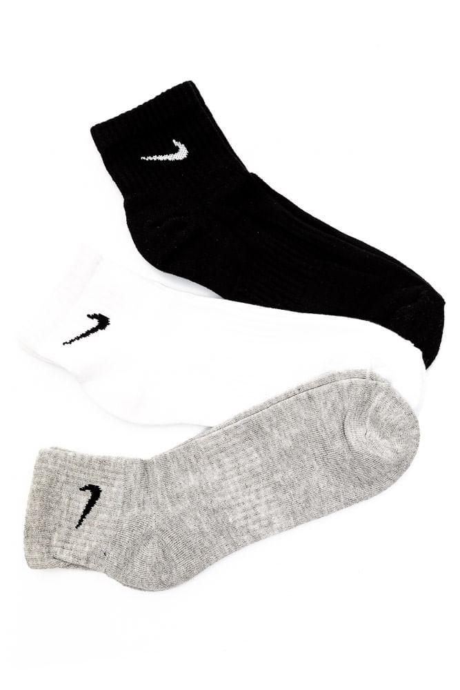 Meia-Nike-Everyday-Cushion-Ankle-Kit-3-Pc-Sortido