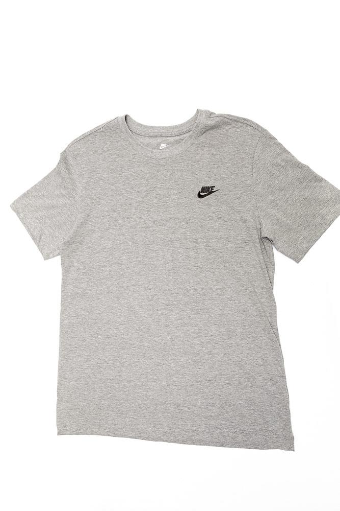 Camiseta-Masculina-Nike-Sportswear-Club-Ar4997-064-Cinza
