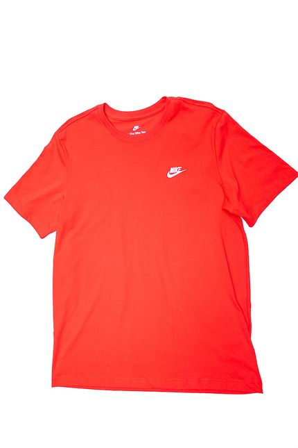 Camiseta-Masculina-Nike-Sportswear-Club-Ar4997-657-Vermelho