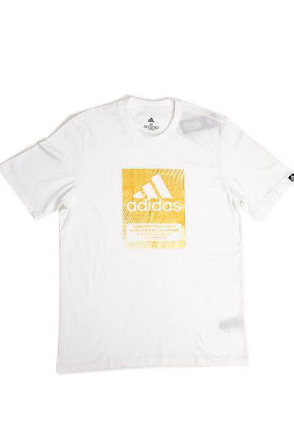 Camiseta-Casual-Adidas-Masculina-Logo-Box-Gs6313-Branco