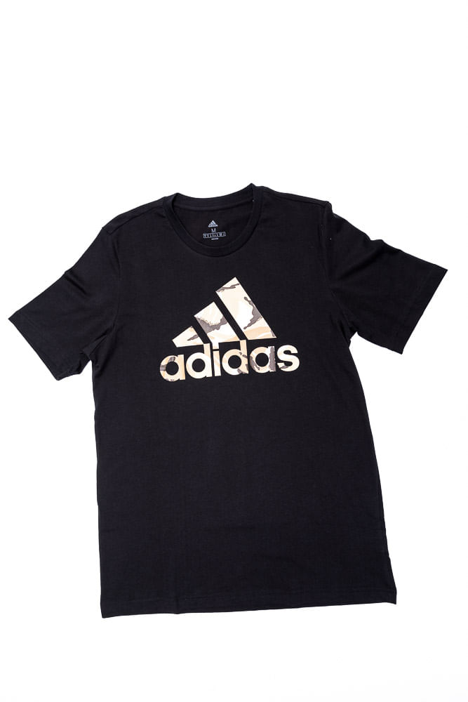 Camiseta-Masculina-Essentials-Adidas-H12198-Preto