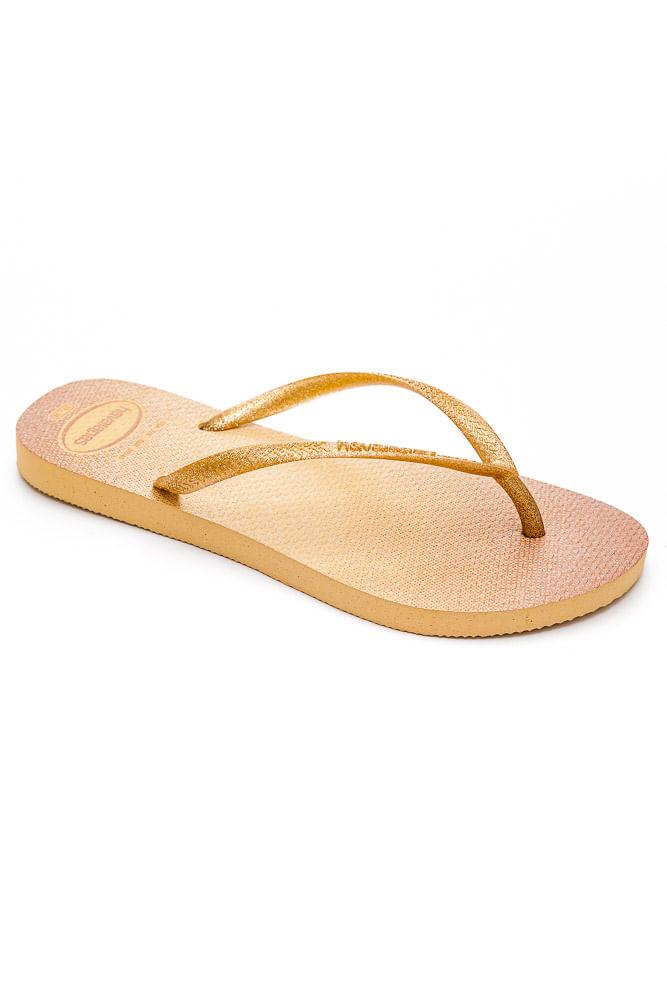 Chinelo-De-Dedo-Havaianas-Slim-Glitter-Ouro