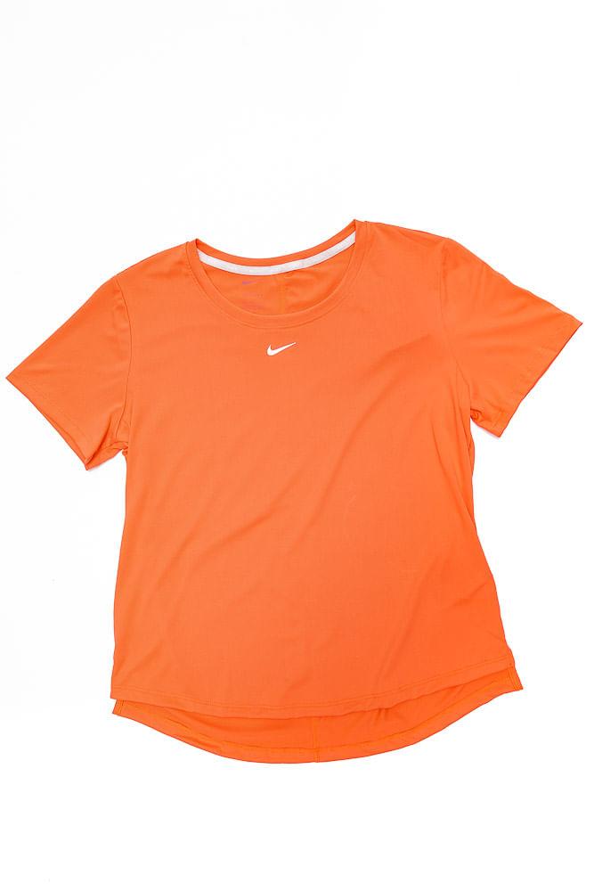 Camiseta-Feminina-Academia-Nike-Dri-Fit-One-Laranja