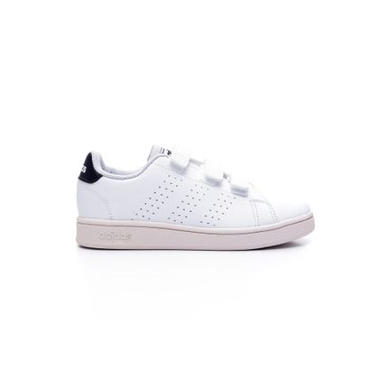 Tenis-Adidas-Infantil-Menino-Esportivo-Advantage-Branco