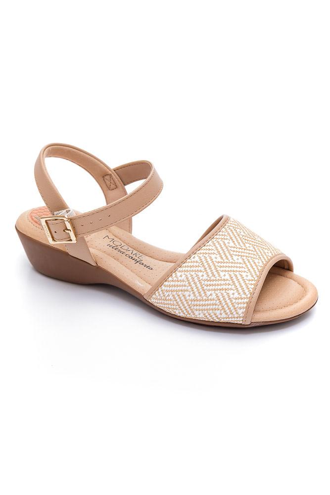 Sandalia-Conforto-Feminina-Modare-Bege