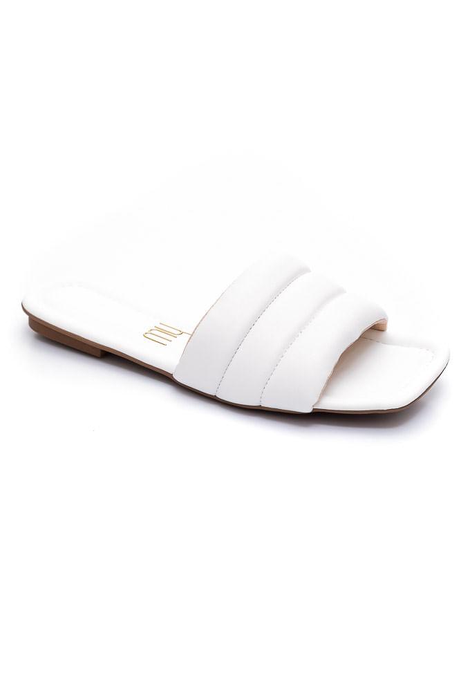 Chinelo-Rasteira-Feminino-My-Shoes-Branco-