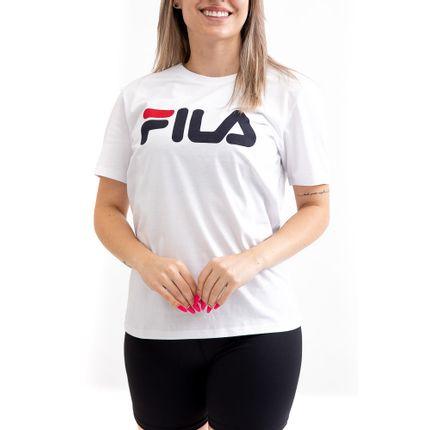 Camiseta-Basic-Letter-Feminina-Fila-Ls180466-100-Branco