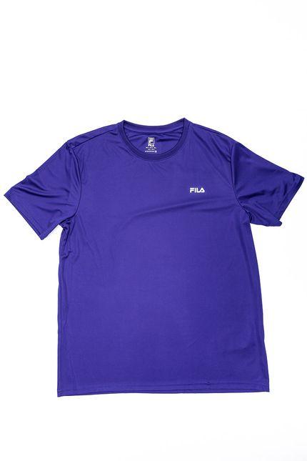 Camiseta-Casual-Masculina-Fila-Basic-Sports-Tr180712-733-Azul