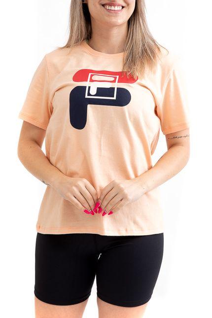 Camiseta-Basic-Letter-Feminina-Fila-F12l034-2586-Laranja