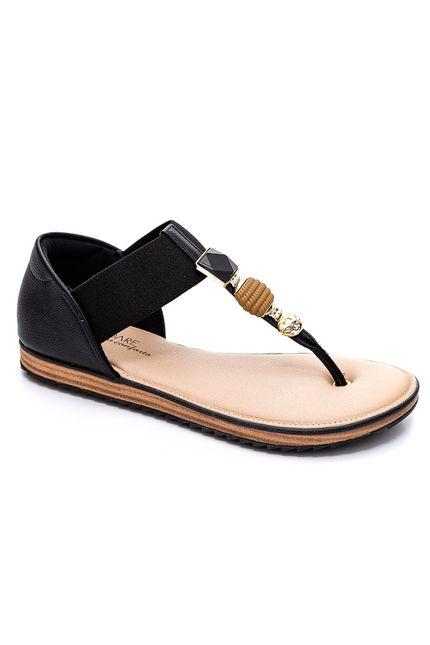 Sandalia-Feminina-Conforto-Modare-Detalhes-Em-Joias-Preto
